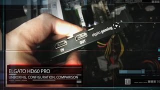 Elgato HD60 Pro Unbox and Setup for same PC recording