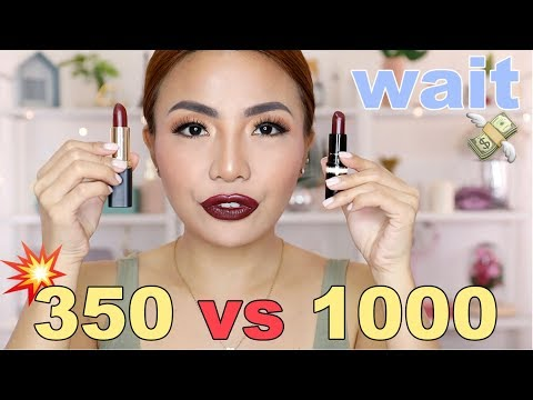 MAHAL Vs MURA Lipstick Edition (Saan KA?)