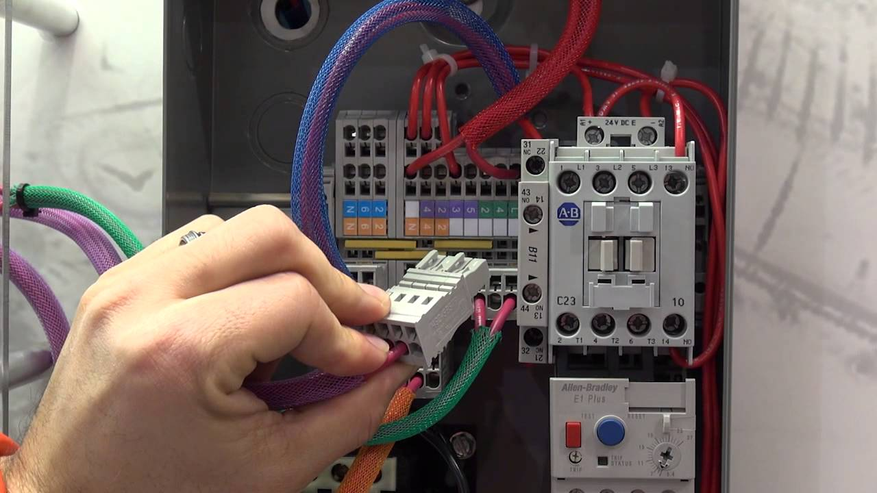 allen bradley motor starter wiring diagram [ 1280 x 720 Pixel ]
