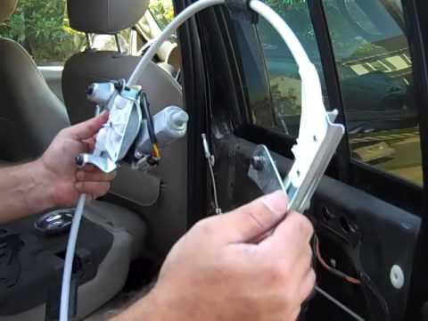 Replacing Power Window Regulator In 2003 Jeep Liberty