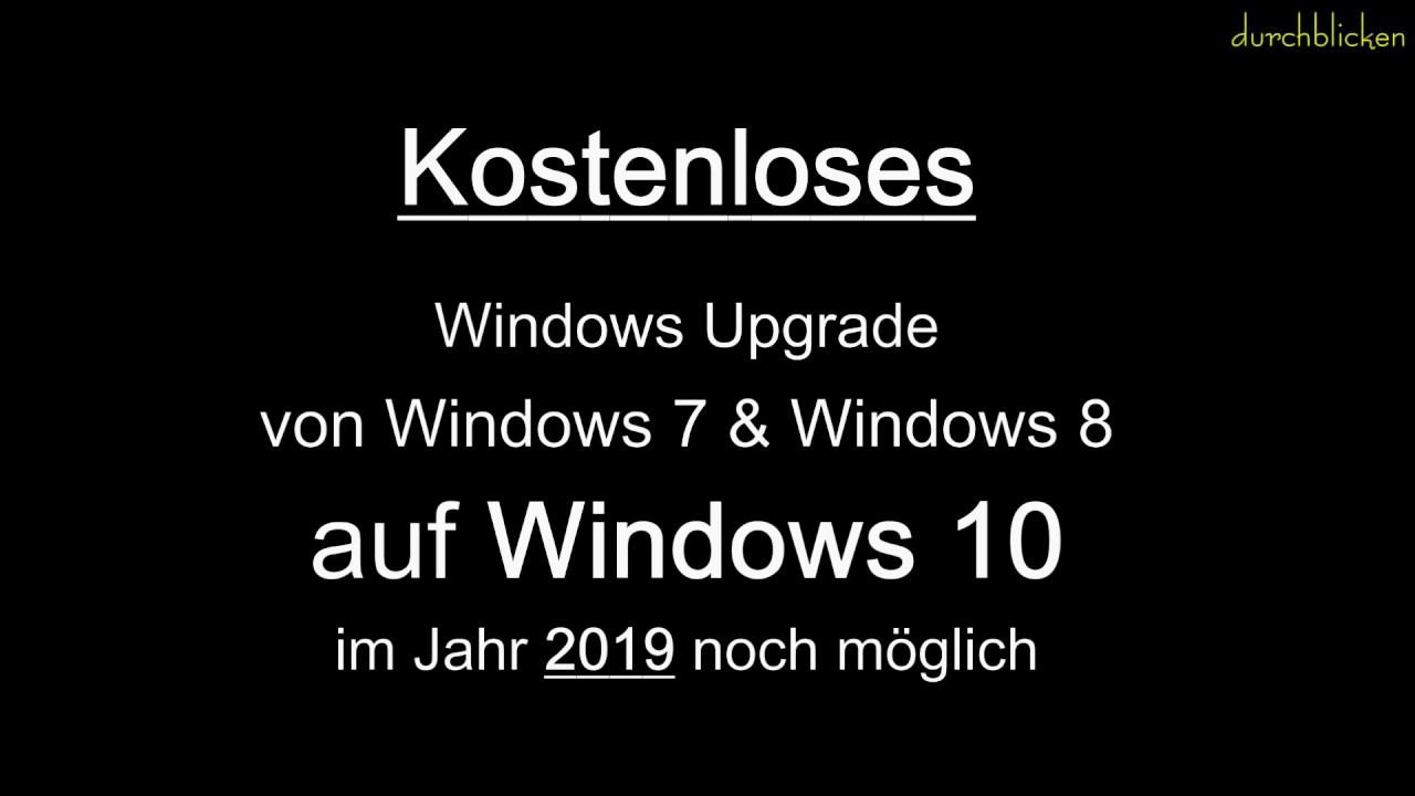 Windows 7 Oder Windows 10