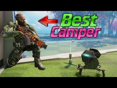 Worlds most ELITE CAMPER.. COD BO3 SnD CAMPING NOOB!
