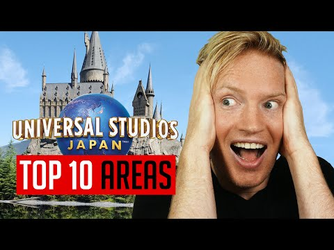 Universal Studios Japan in Osaka: Complete Guide - ALL 10 AREAS
