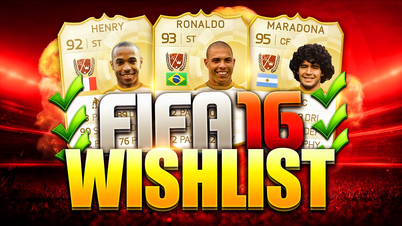 Fifa 16 Legends