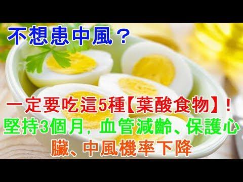 不想患中風?一定要吃這5種【葉酸食物】!堅持3個月,血管減齡、保護心臟、中風機率下降