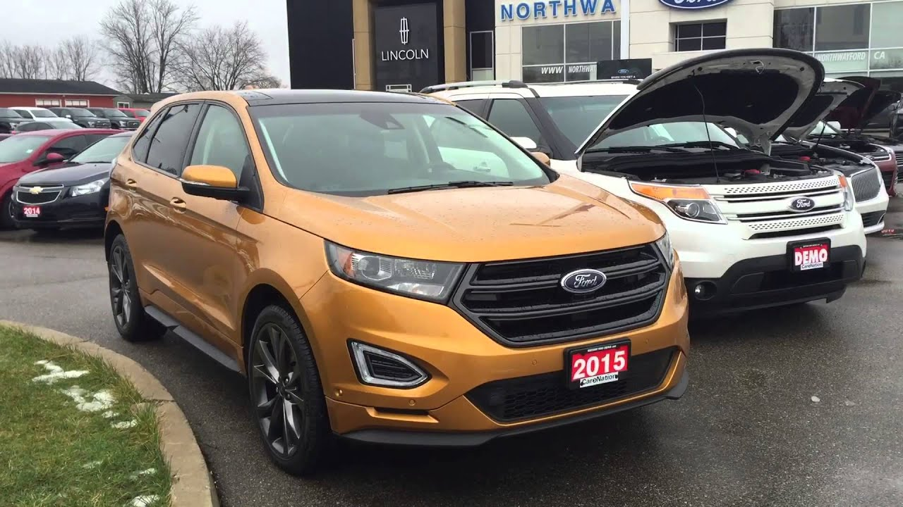 Ford Edge New Electric Spice