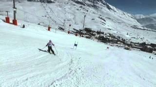 Alpe d'Huez - LES CRISTAUX 2016 - Run avec Juliette