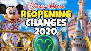 Top 10 Changes with Reopening Walt Disney World in 2020 -  New Rides, Safety & More