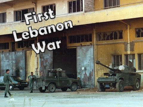Lebanon War 1982 (First Lebanon War) - Real Combat Footage