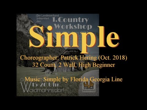 Linedance Simple (Teach & Demo)
