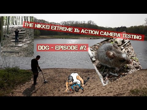 DDG - Testing the Nikkei Extreme X6 while treasure hunting. Episode #2
