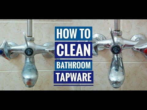 How to clean bathroom tapware, DIY Bathroom tap cleansing