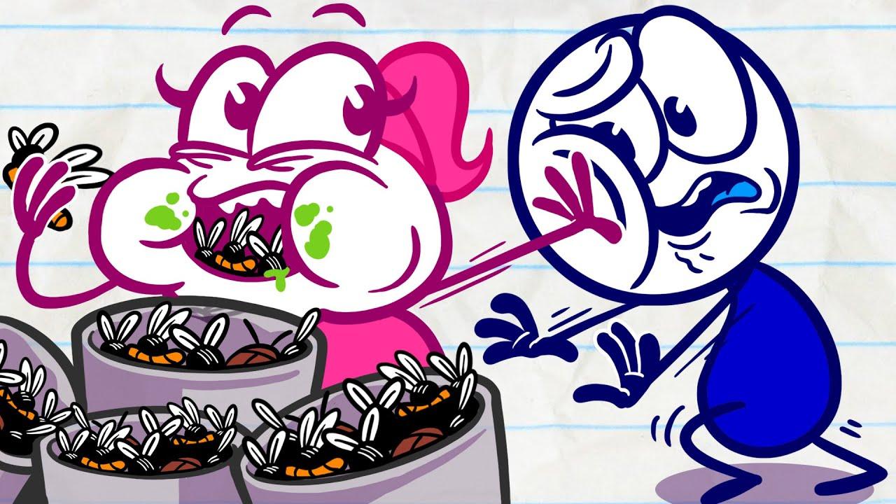 """Cart Of War""   Animation   Cartoons   Pencilmation Compilation"