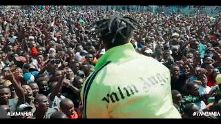Diamond Platnumz  ON JAMAFEST PART 2 ( UHURU STADIUM - TANZANIA)