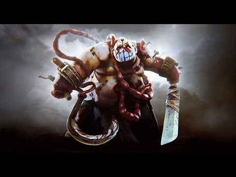 Dota 2 Pudge 2017 Serbian Gameplay Live Commentary