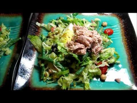 Making Salad Nicoise Healthy