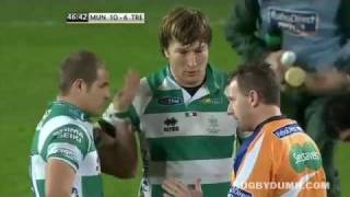 Referee Nigel Owens tells off Tobias Botes - 'This is not Soccer'