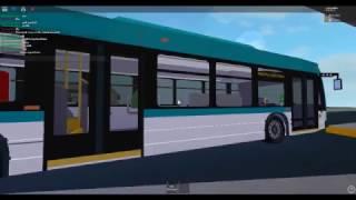 Roblox: Riding DTA 2015 NovaBus LFS Gen IV on route 93