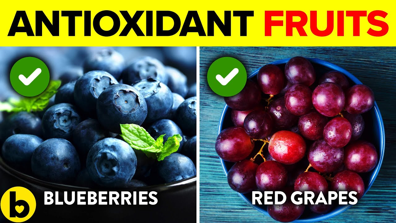 9 Antioxidant-Rich Fruits you should be Eating