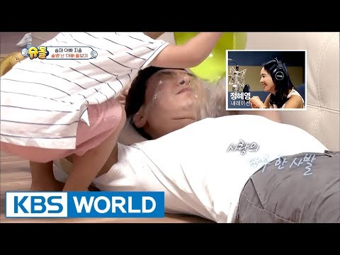 Seungjae pours water into his dad to cure his hangover! [The Return of Superman / 2017.07.09]