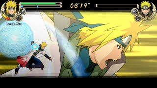 Naruto Shippuden Ultimate Ninja Impact Walkthrough Part 42 Minato vs Naruto (60 FPS)