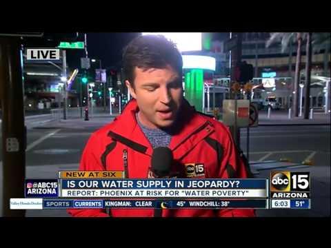 Is Phoenix water supply in jeopardy?