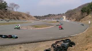 近畿スポーツランド 1コーナー / キンスポ ミニバイク モンキー エイプ ルーツ
