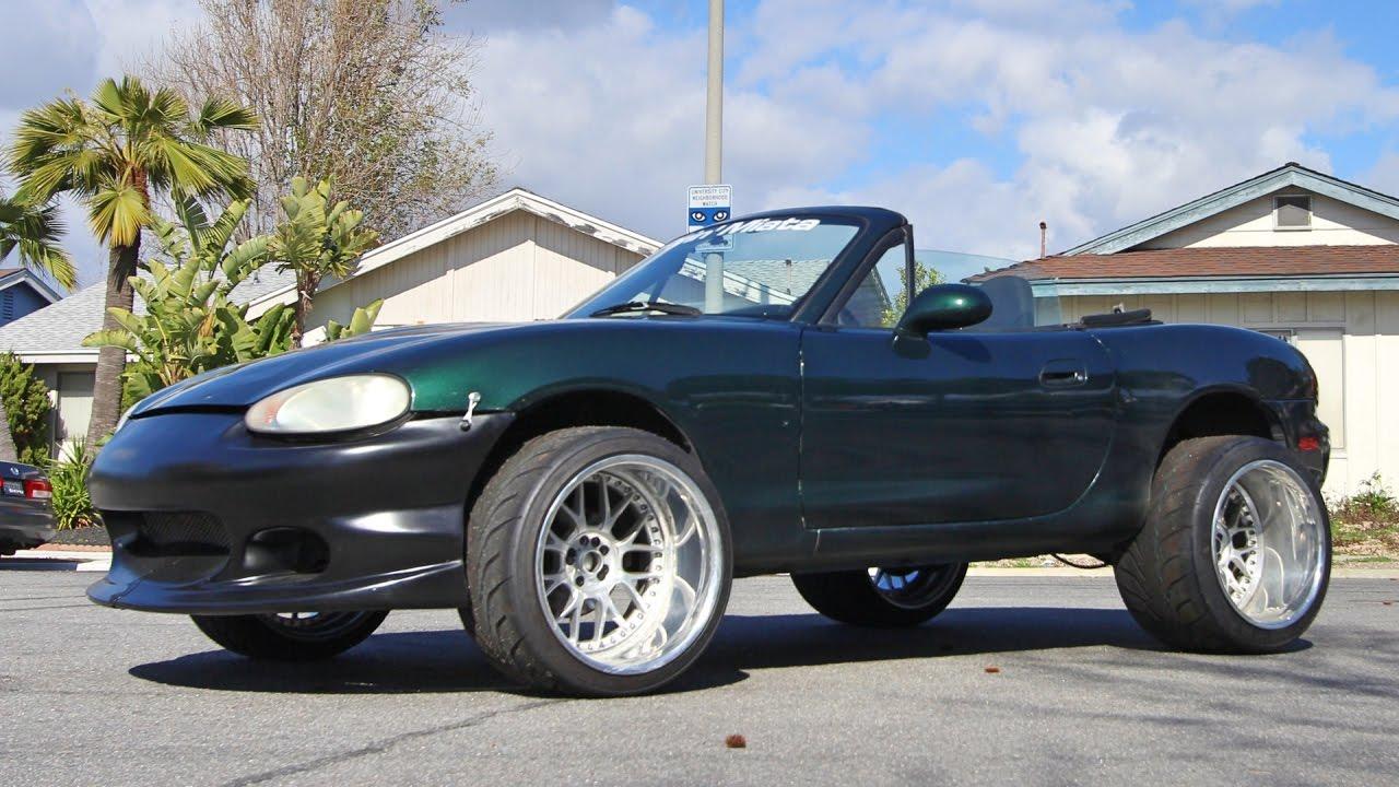 Mazda 3 Lift Kit >> DONK MIATA! - YouTube