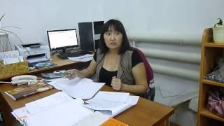 Интервью Соискателя по вакансии бухгалтер Шутановой Кулян, работающей в ТОО «Руслан и компания»(, 2014-12-23T05:26:00.000Z)