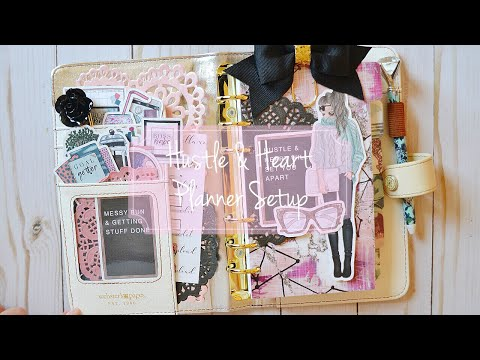 Personal Planner Setup // Hustle & Heart