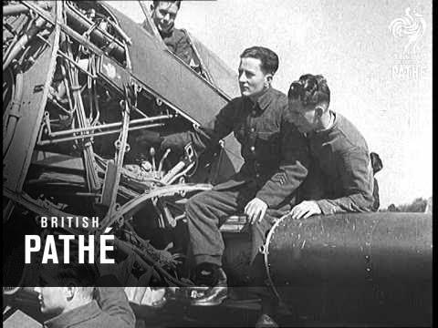 RAF Training School At Halton (1938)