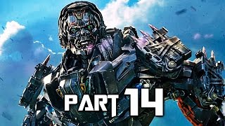 Transformers Rise of the Dark Spark Walkthrough Gameplay Part 14 - Extinction (PS4)
