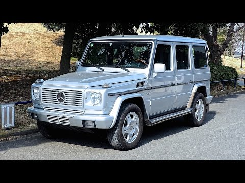 2002-mercedes-benz-g500l-v8-(canada-import)-japan-auction-purchase-review