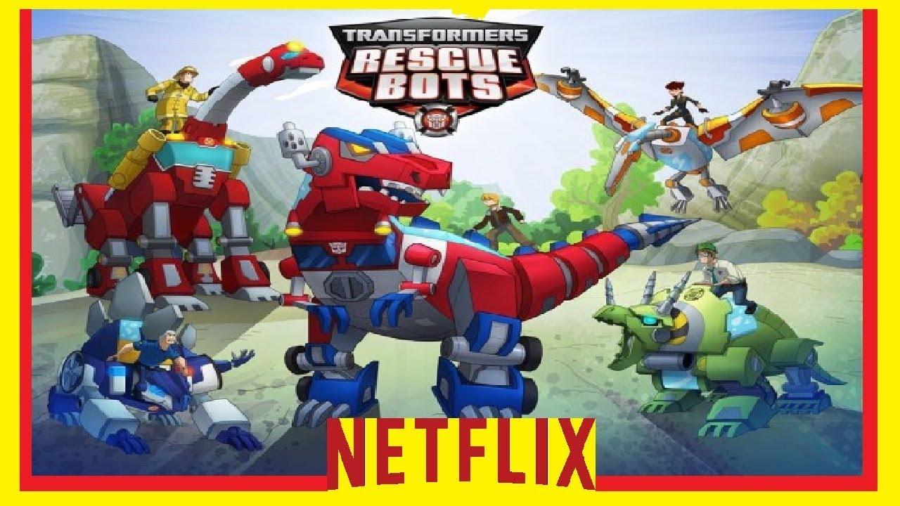 Resultado de imagen para Transformers - Rescue Bots netflix