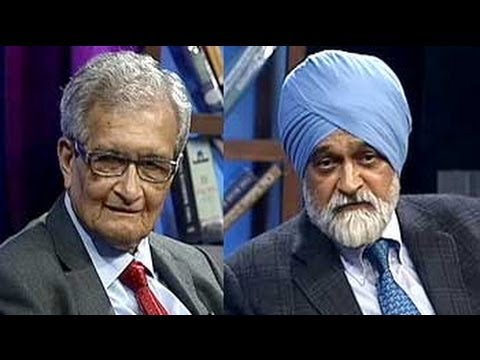 Amartya Sen and Montek Singh Ahluwalia on the India story