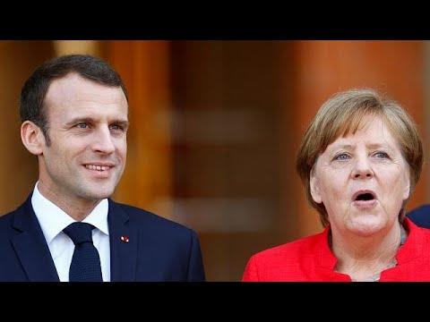 Angela Merkel y Emmanuel Macron juntos para tratar los desafíos de Europa