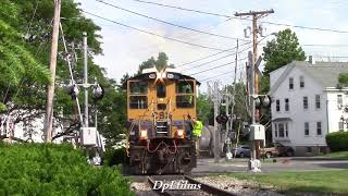 Download Video Chasing New Grafton and Upton Railroad MP15 1160 on GU-1 MP3 3GP MP4