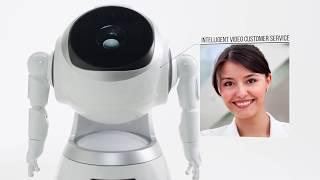 CRUZR, un robot de service humanoïde intelligent connecté