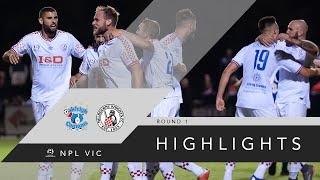 NPL R1   Oakleigh Cannons FC Vs Melbourne Knights FC