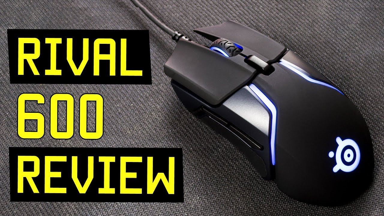 SteelSeries Rival 600 Gaming Mouse Review - Best FPS gaming mouse in 2018