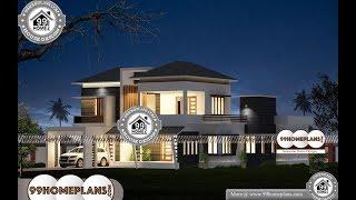 Indian House Design By 99HOMEPLANS COM [ Esp: M094 ]