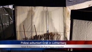 08.01.2013 (HO) Polizei exhumiert im Mordfall Peggy Knobloch ein Grab (Erste Bilder)