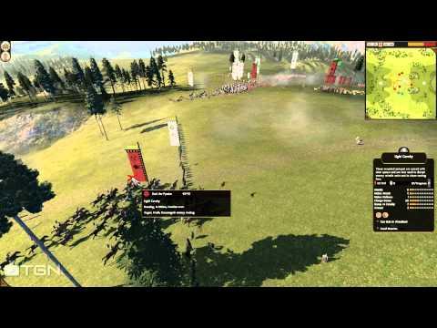 Total War Shogun 2 HD Online Commentary Battle 99 |