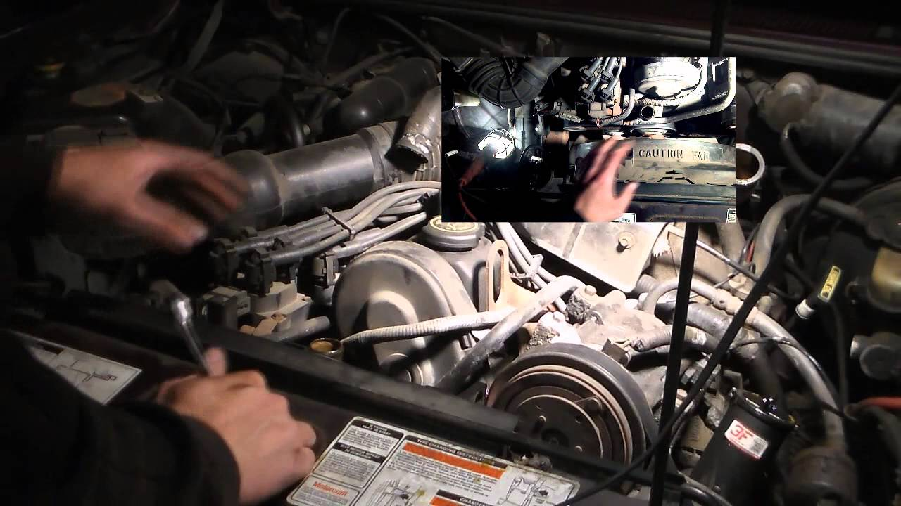 maxresdefault water pump replacement 2 3l ranger ford mazda b2300 youtube 2.3 Liter Ford Engine Diagram at n-0.co