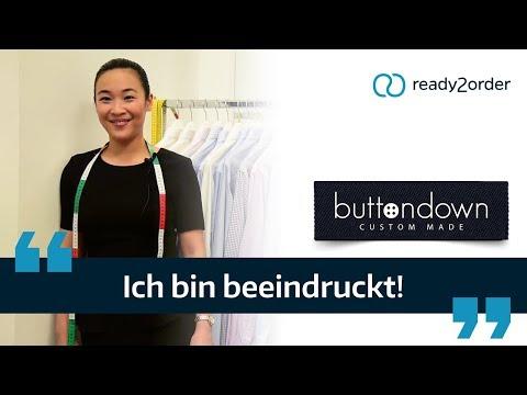 Maßschneiderei buttondown über ready2order | Das sagen unsere Kunden #1