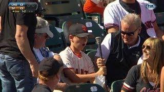Fan catches Hanley