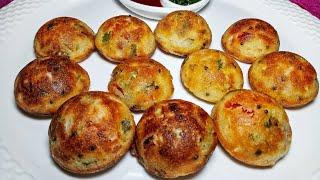 झटपट स्वादिष्ट नाश्ता बनाएं | Quick  Sooji Appam Recipe In Hindi At Home
