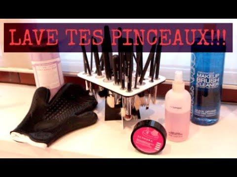 💄 Comment laver & entretenir ses pinceaux de maquillage ? 💄