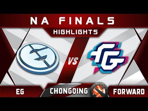 EG vs Forward NA Finals Chongqing Major 2018 Highlights Dota 2