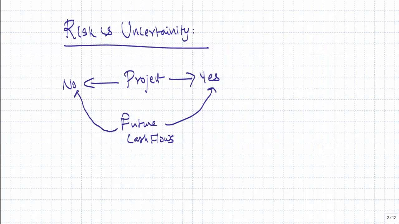 Risk Analysis in Capital Budgeting - Introduction - YouTube